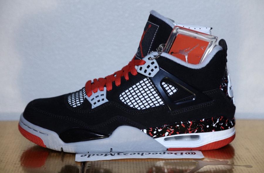 "Air Jordan 4,AJ4,發售  或為女生專屬!Air Jordan 4 ""Splatter"" 將于明年發售"