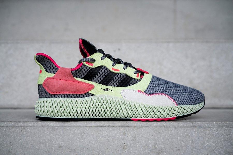 adidas,ZX 4000 4D,上脚,发售  全新 4D 跑鞋亮相!复古造型与顶级缓震兼备,你心动了么?