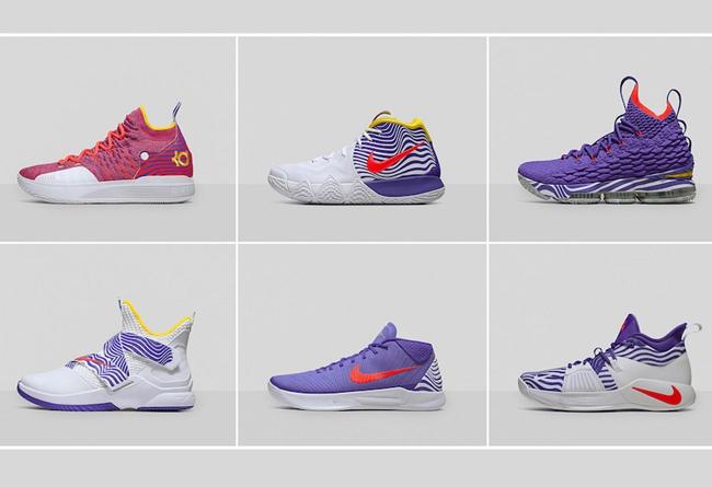 LeBron 15,LeBron Soldier 12,KD  亮眼彩色主题!Nike 2018 WNBA 全明星专属 PE 鞋款曝光