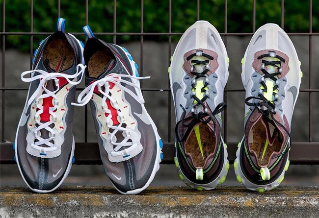 Nike,React Element 87  脚感与造型惊人!两款 React Element 87 将于下周发售!
