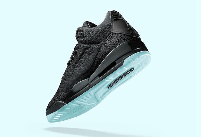 Air Jordan 3 Flyknit,AJ3,AQ100  编织鞋面规格极高!Air Jordan 3 Flyknit 即将发售