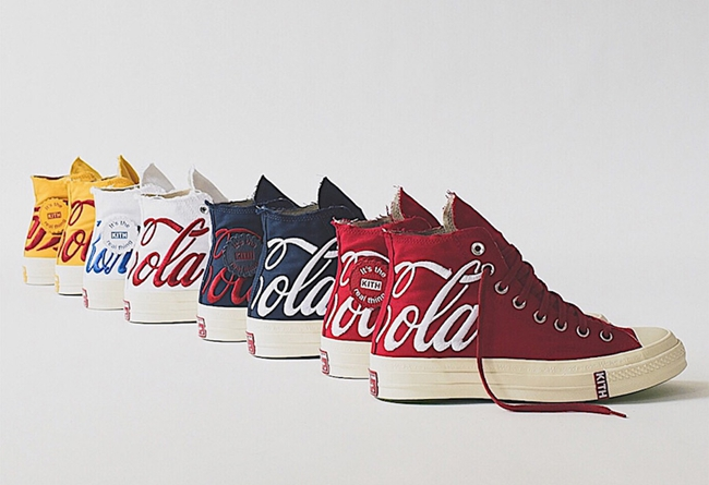 Kith,Converse,Coca-cola,发售  延续超限量设计!KITH x 可乐三方联名重磅回归实物美图欣赏