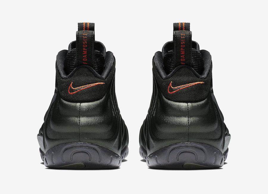 """Nike,发售,Air Foamposite Pro,Seq  官图来了!酷似 UNDEFEATED 联名的 """"军绿泡"""" 确定下周发售!"""