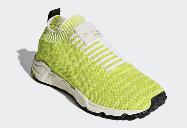 adidas,EQT Support Sock Primek  醒目荧光色!adidas EQT Support Sock 新品即将发售
