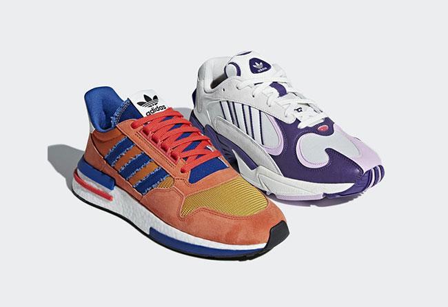 adidas,龙珠 Z,发售  龙珠 Z 联名鞋盒全新细节!买鞋还可能送模型,本月发售两款配色!
