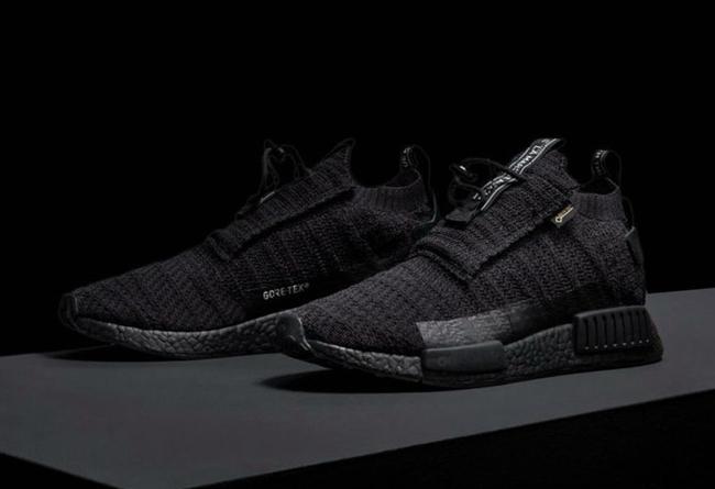 adidas,NMD TS1 GORE TEX,AQ0927  防水编织鞋面!adidas NMD TS1 GORE TEX 黑武士配色发布