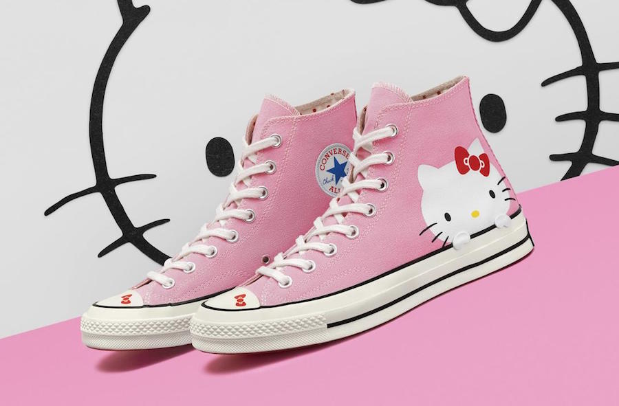 Converse,HelloKitty x Converse  不抢根本买不到!超多细节 Hello Kitty x 匡威系列下周发售