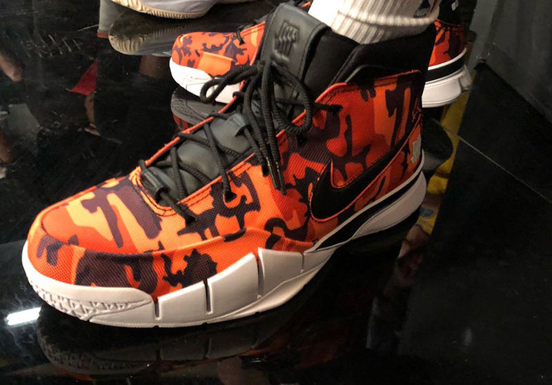UNDEFEATED,Nike,Kobe 1,Protro, 勒布朗上腳的 UNDFTD 科比聯名再曝新圖!看看其他球星的上腳風采