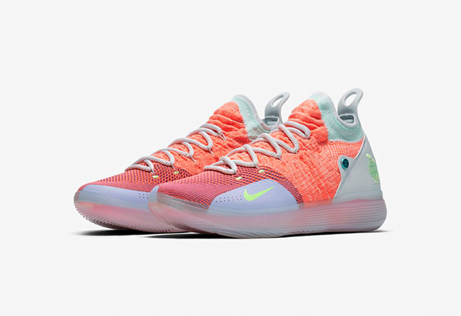 """Nike,KD11,发售,AO2604-600  色彩缤纷最美实战鞋!KD 11 """"EYBL"""" 官网现已发售"""