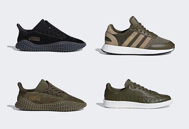 adidas Originals,NEIGHBORHOOD,  经典军事风!NBHD 联名 adidas Originals 全系列官图曝光!