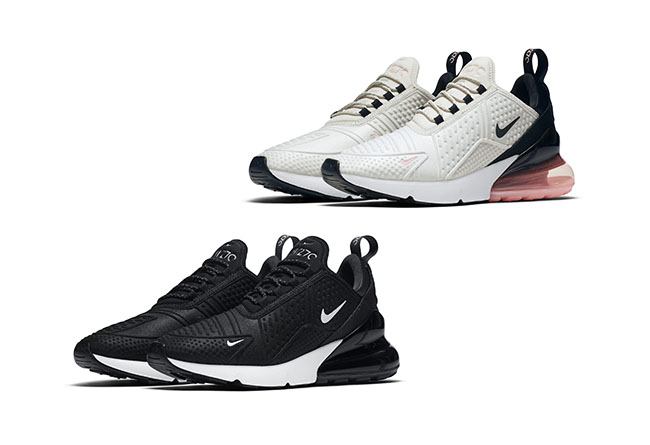 Nike,Air Max 270 Molding,Wmns,  一体化模塑鞋身!Nike Air Max 270 疑似女生专属两色曝光