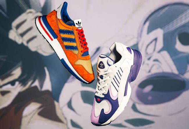 """adidas,《龙珠 Z》,发售,D97046,D97048  童年记忆中的 """"悟空"""" 与 """"弗利萨""""!龙珠联名实物开箱美图"""