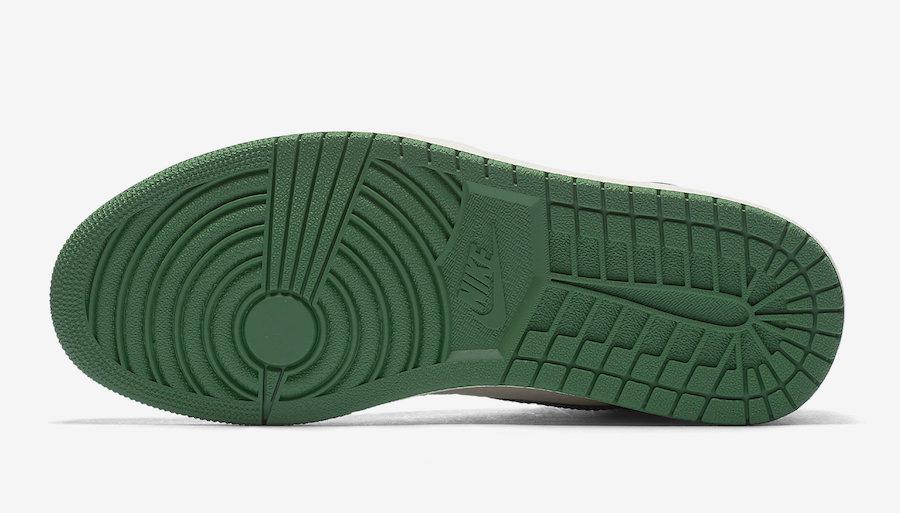 都想要的黑紫 黑绿脚趾 AJ1 下周六同一天发售 官图今日曝光