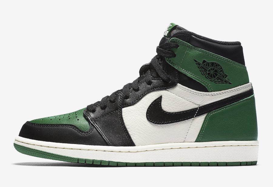 Air Jordan 1,AJ1,发售,Court Purp  都想要的黑紫、黑绿脚趾 AJ1 下周六同一天发售!官图今日曝光!