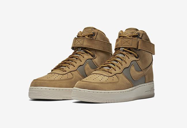 Nike,Air Force 1,525317-700,发售  小麦 Air Force 1 的兄弟配色!全新高帮版本下月发售