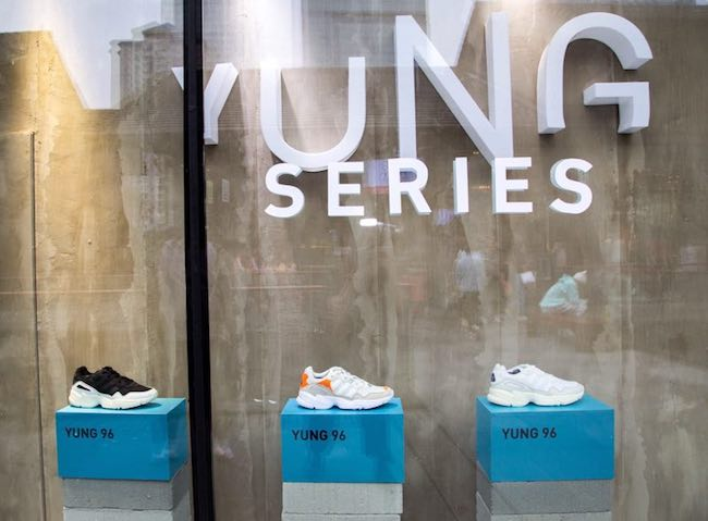 adidas,yung 96  adidas Originals 联手 UP+ 举行 YUNG 96 特别发布活动!