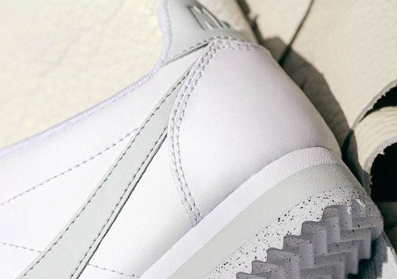 Nike,Classic Cortez Flyleather  新一代环保小白鞋!Nike Cortez Flyleather 女款现已发售