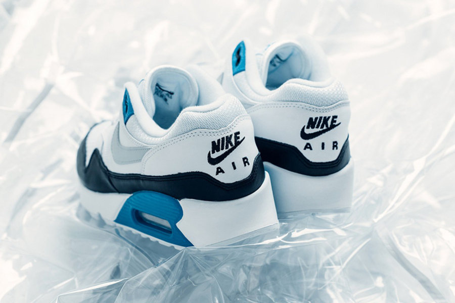 "Air Max 90/1,Nike,发售  经典配色 + 混搭设计!Air Max 90/1 ""Laser Blue"" 现已发售"
