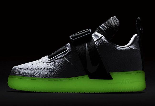 Nike,Air Force 1,发售,Air Force  夜光中底 + 机能属性!Air Force 1 Utility QS 即将发售