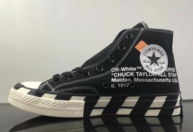 OFF-WHITE,Converse,发售  OFF-WHITE x Converse 2.0 还有一双黑色版本!白色下月初发售!