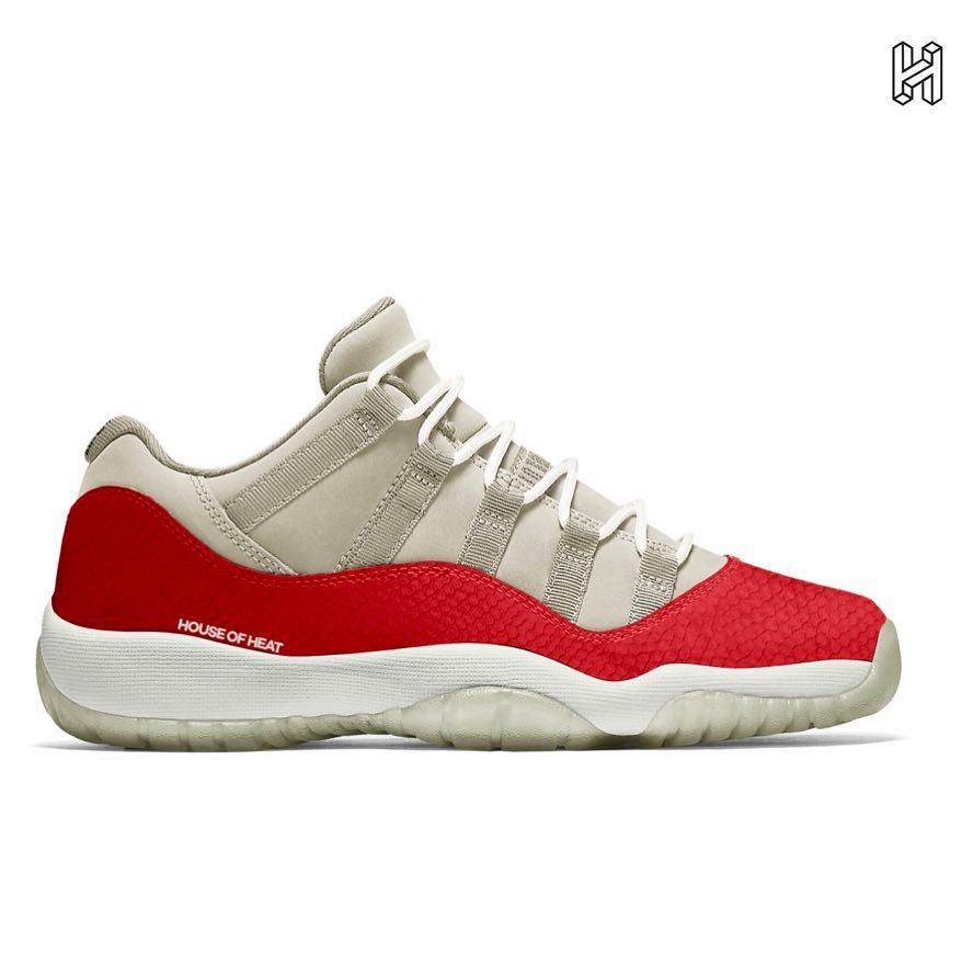 CD6846-002,AJ11,Air Jordan 11, CD6846-002 首次曝光!明年的 Air Jordan 11 Low 新配色亮相了!