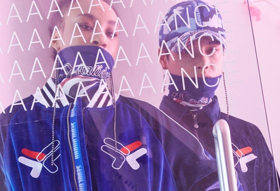 FILA FUSION,D-Antidote,发售  超火的嘻哈风格!FILA FUSION x D-Antidote 联名系列正式发布