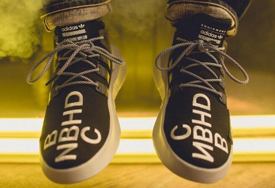 NBHD,BBC,adidas,EQT BASK ADV,发  重磅三方联名!NBHD x BBC x adidas EQT BASK ADV 本周发售