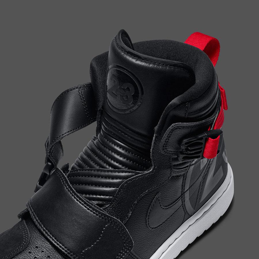 Air Jordan 1 Moto,AJ1,发售,AT314  超帅的机车风!Air Jordan 1 Moto 黑红配色现已发售