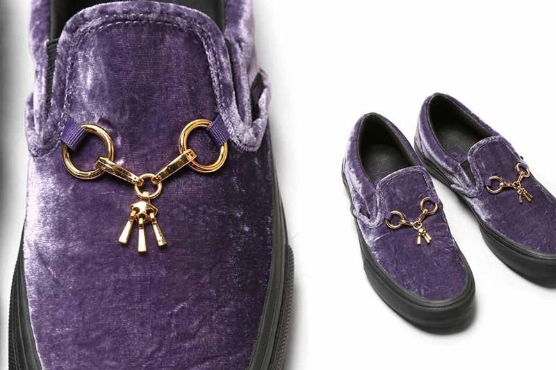 Vans,Vault,Needles,Slip-On,发售  复古贵族气息!Needles 合作 Vans Slip-On 鞋款本周六发售