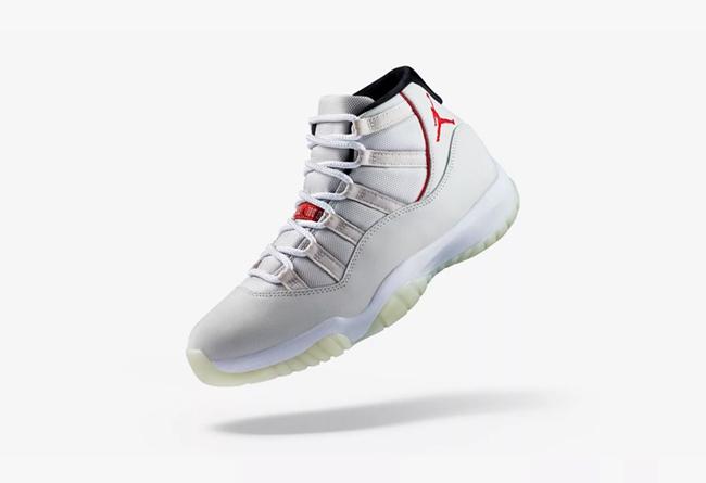 "Air Jordan 11,AJ11,发售,378037-0  官网预告已上线!Air Jordan 11 ""Platinum Tint"" 本周末发售"