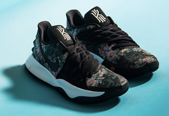 """Nike,Kyrie Low,Floral,AO8979-0  实战鞋也要骚气十足!花卉主题 Nike Kyrie Low """"Floral"""" 现已发售"""