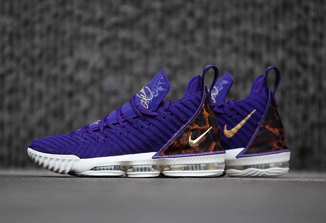 Nike,LeBron 16,King Court Purp  得不到的永远是最好!看看湖人紫金配色 LeBron 16 到底有多美