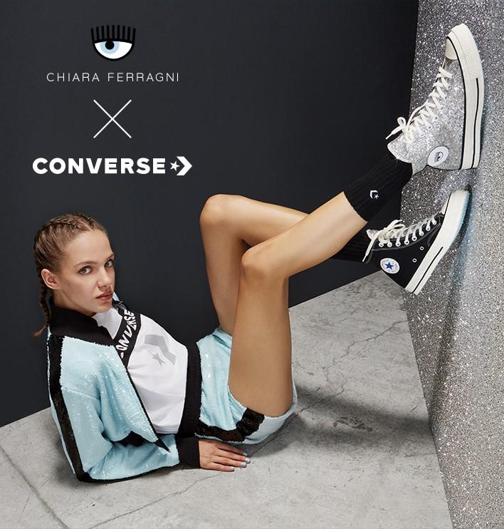 Converse,Chiara Ferragni,发售,ch  颜值堪比 OW 联名!Converse x Chiara Ferragni 本周发售