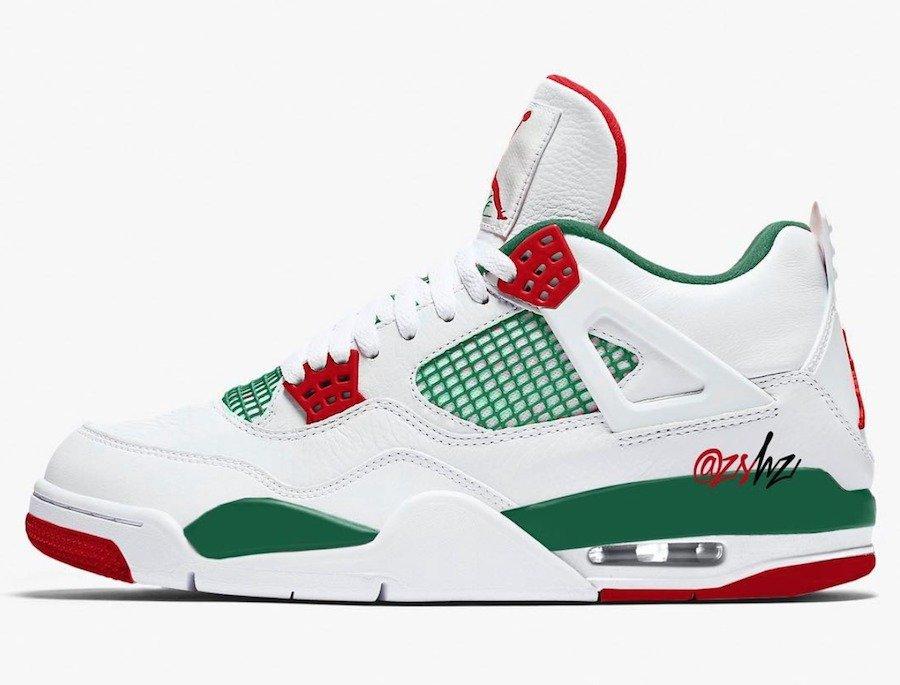Air Jordan 4,AJ4,发售  黑白两个版本曝光!Gucci 配色 AJ4 灵感来自斯派克·李电影