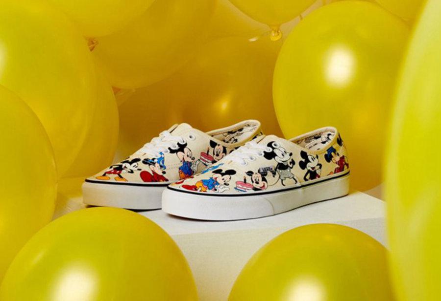Vans,Disney,发售  米老鼠 90 周年庆典!Disney x Vans 全新单品现已发售
