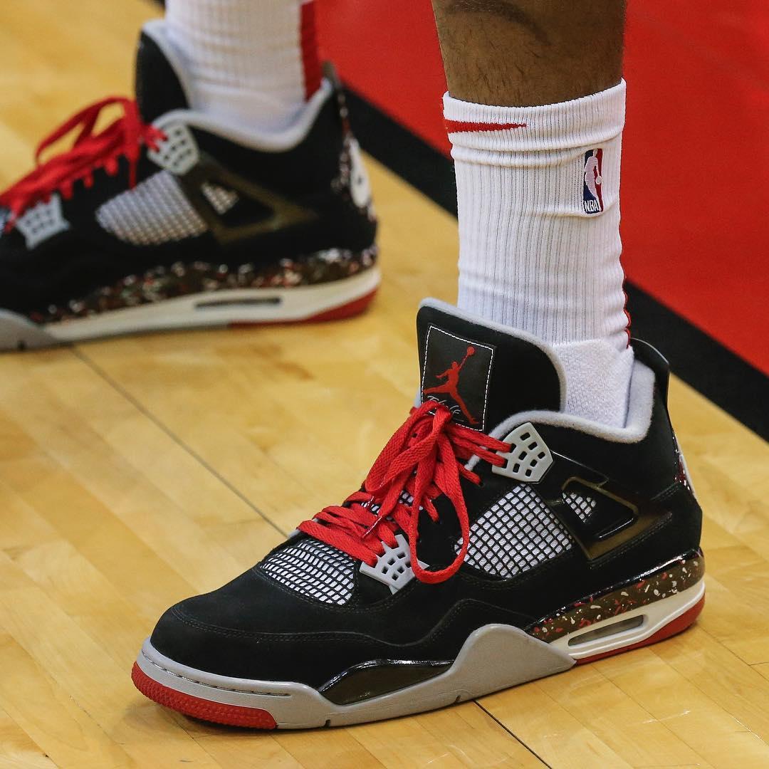 """Nike,adidas,AJ,Air Jordan  """"鞋王"""" 塔克实力依旧强劲!一周 NBA 赛场球鞋上脚精选!"""