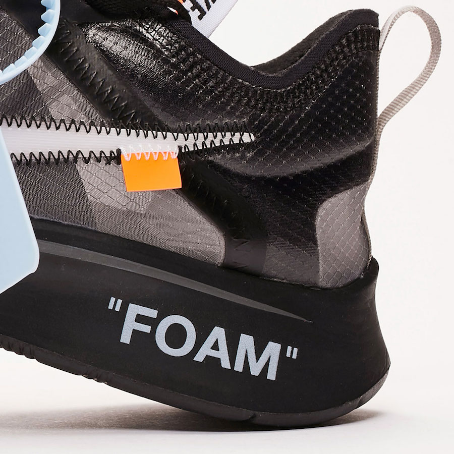 "OFF-WHITE x Nike Zoom Fly SP ""Tulip Pink"" AJ4588-600、""Black"" AJ4588-001 - 莆田鞋"