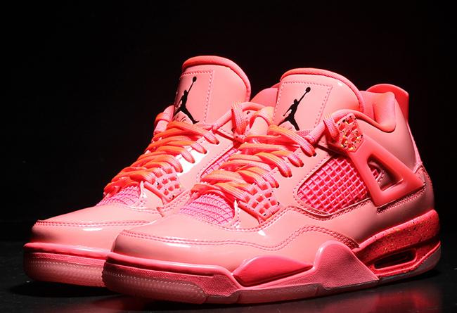 """Air Jordan 4,aj4,AQ9128-600,ho  质感非凡红漆皮!Air Jordan 4 """"Hot Punch"""" 实物美图"""