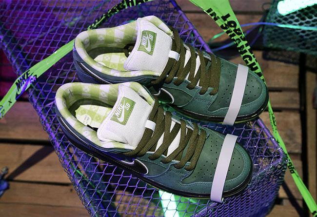 DUNK SB,CNCPTS,Nike,CONCEPTS  数量更稀有!CNCPTS 店铺独占「绿龙虾」你一定还没见过!