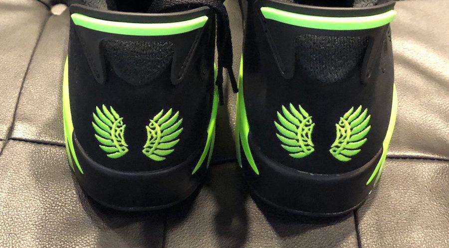 AJ6,Air Jordan 6,Oregon Ducks  从未见过!俄勒冈 Air Jordan 6 PE 首次曝光!