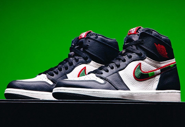 Air Jordan 1,AJ1,开箱,发售  今年最后一双 AJ1!体育画报 Air Jordan 1 细节提前预览