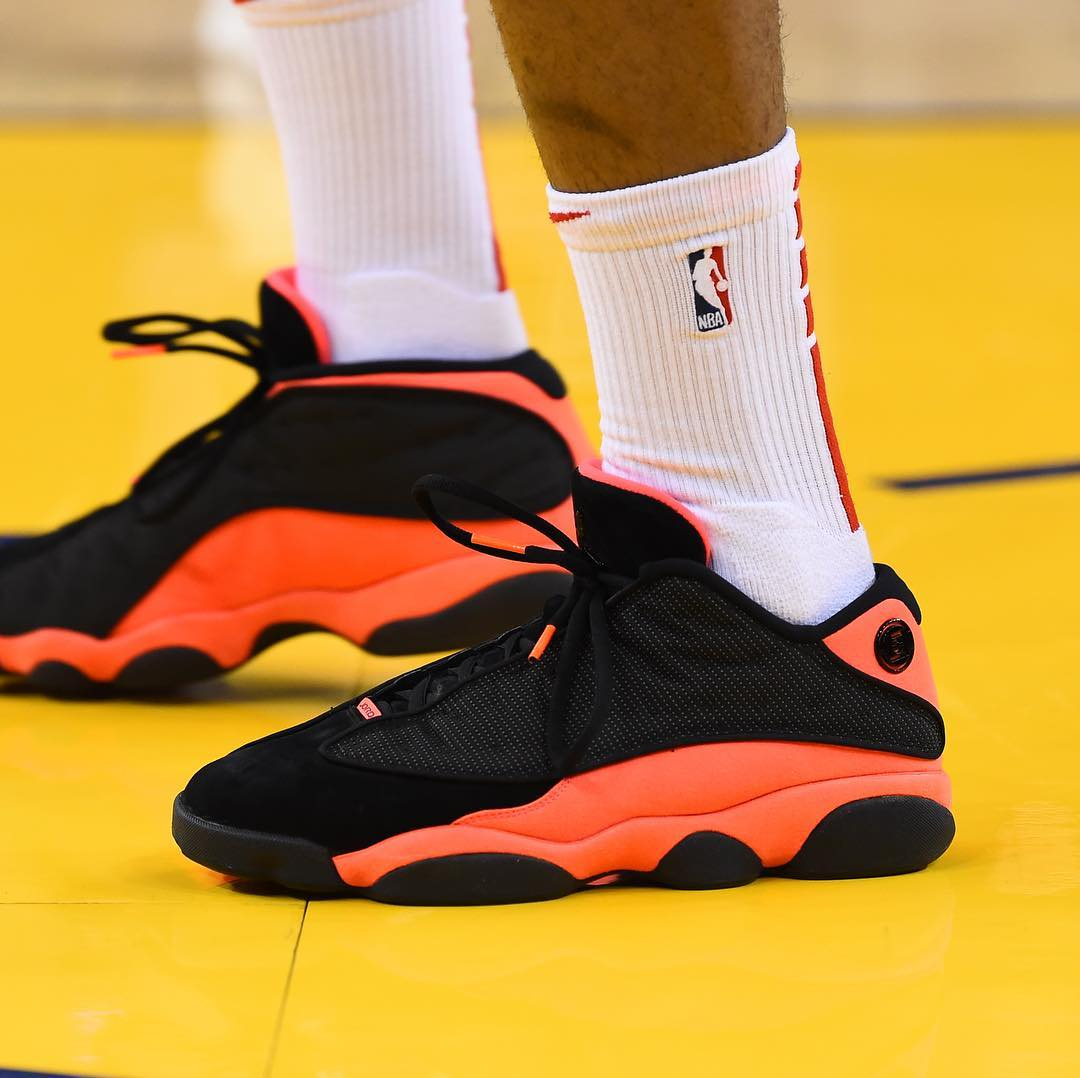 Kobe1,PG2.5,KD4,curry6  东契奇上脚定制配色,塔克助力冠希!一周 NBA 球鞋上脚精选!