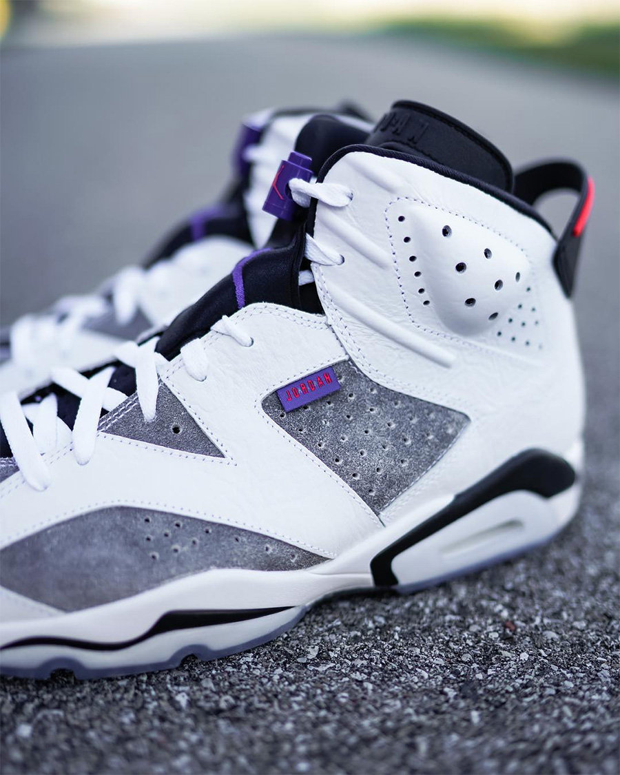 "Air Jordan 6 ""Flint"" 下周发售!提前看看"