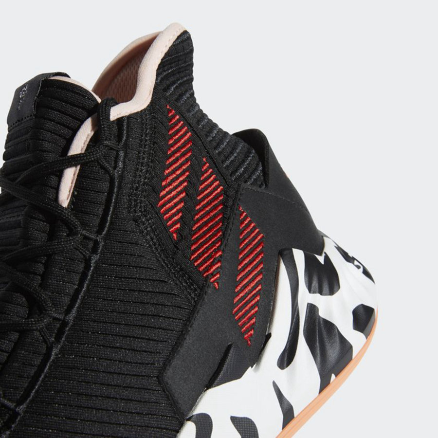 "adidas,D Rose 9  中底图案来自书法笔画!D Rose 9 ""CNY"" 配色官图释出"