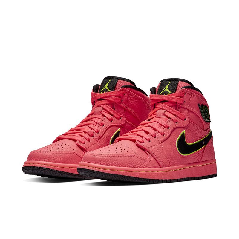 "Air Jordan 1,AJ1,WMNS,Hot Punc  甜美配色 + 独特标志!Air Jordan 1 ""Hot Punch"" 有点好看!"