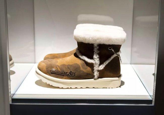 UGG,BAPE  看了这几双即将发售的「联名新鞋」我才知道,今年钱包一定遭殃...