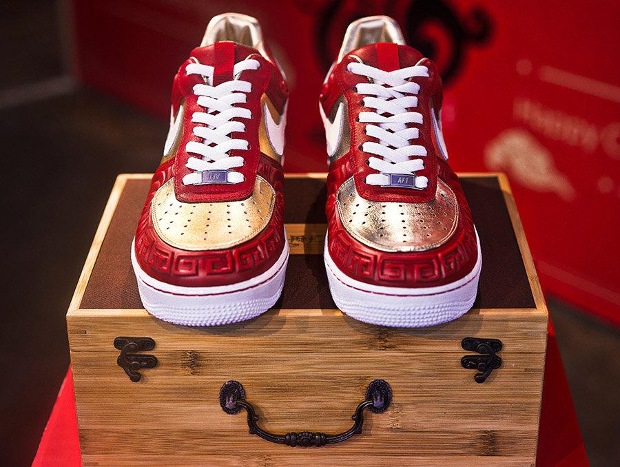 AF1,Air Force 1,Nike  你从未见过的立体鞋面!这双三方联名的 AF1 厉害了!