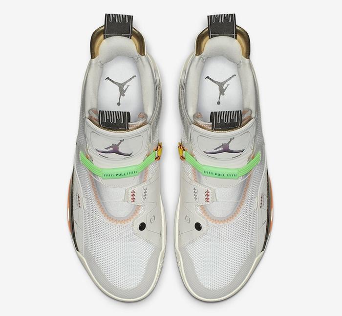 Air Jordan 33,AJ33,AQ8830-004  OW 联名既视感!全新配色 Air Jordan 33 将于下月发售