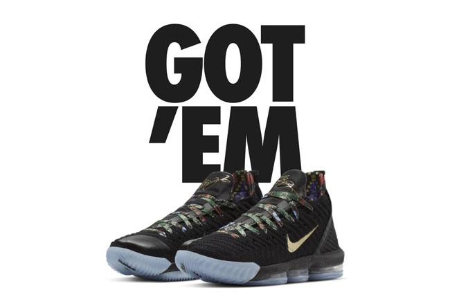 Nike,LeBron 16,发售,Watch The Th  收到专属购买权了么!特别版 LeBron 16 中国区 SNKRS 刚刚发售