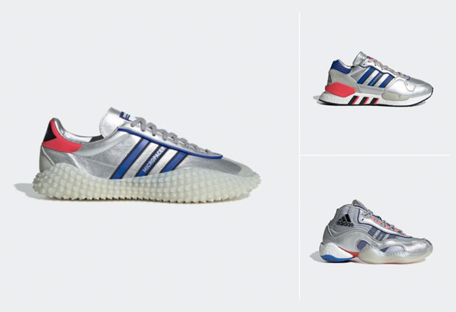 NEVERMADE,adidas  科幻又奢华!终于等来液态银 adidas NEVERMADE 的发售!